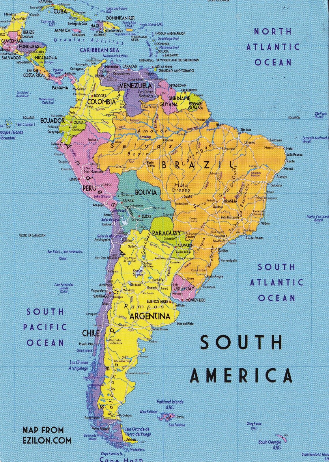 Postcard From South America