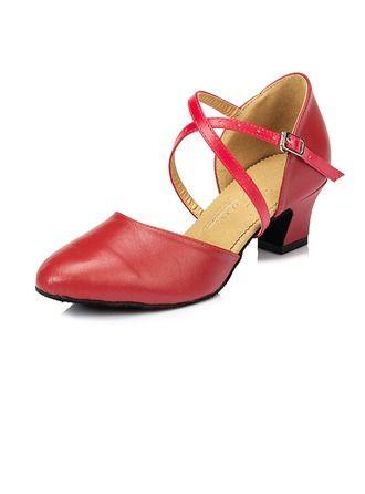 N8woy0mnv Vrai Latin Femmes Talons De Cuir Sandales Chaussures Danse VzqSMpU
