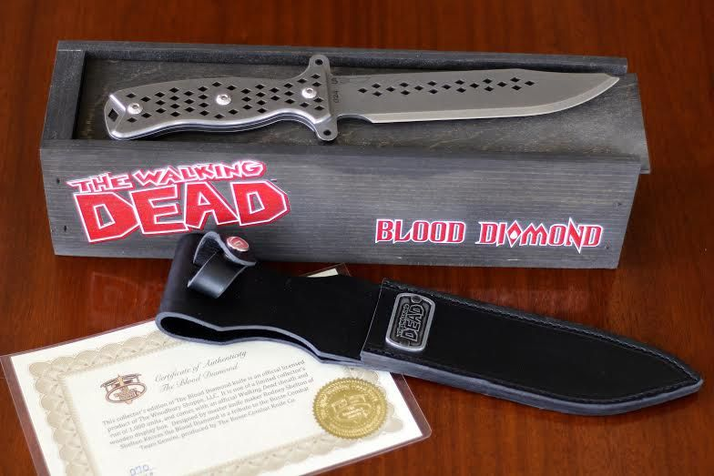 Exclusive Blood Diamond Knife Diamond The Walking Dead