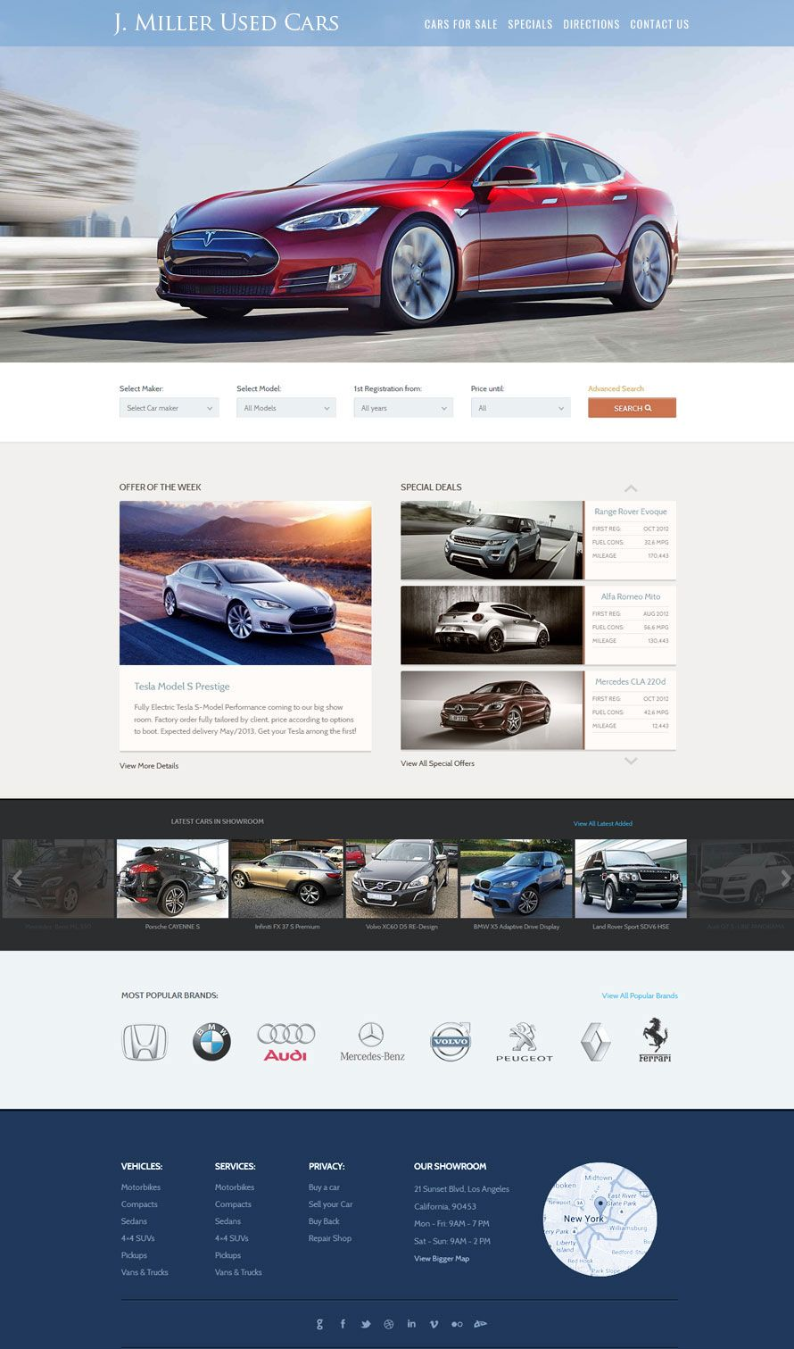 Used Car Dealer Website Design 2 More