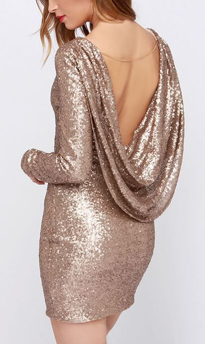 Crossed the Line Gold Sequin Dress Gold Jewelry Pinterest
