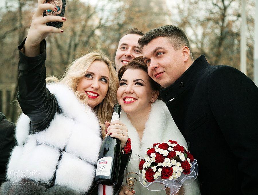 Wedding selfie by Dukhovna