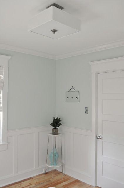 FIVE PANELED DOOR - Arts and Crafts style trim - around the doors ...