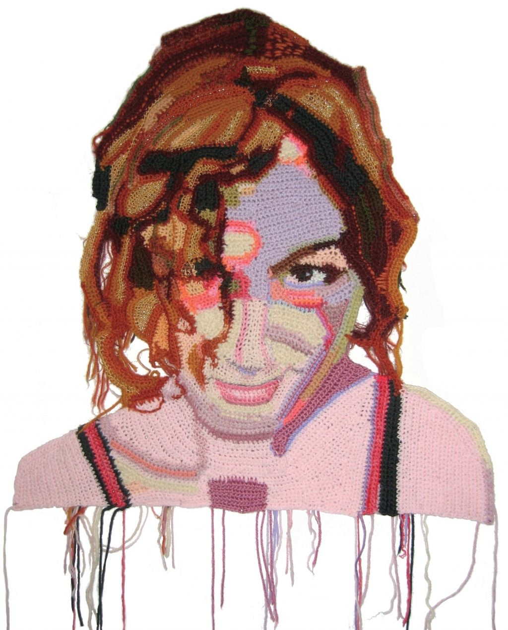 Jo Hamilton's Crochet Portraits (With Images)