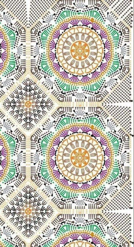 Best crochet mandala pattern rug 29 Ideas #crochetmandalapattern