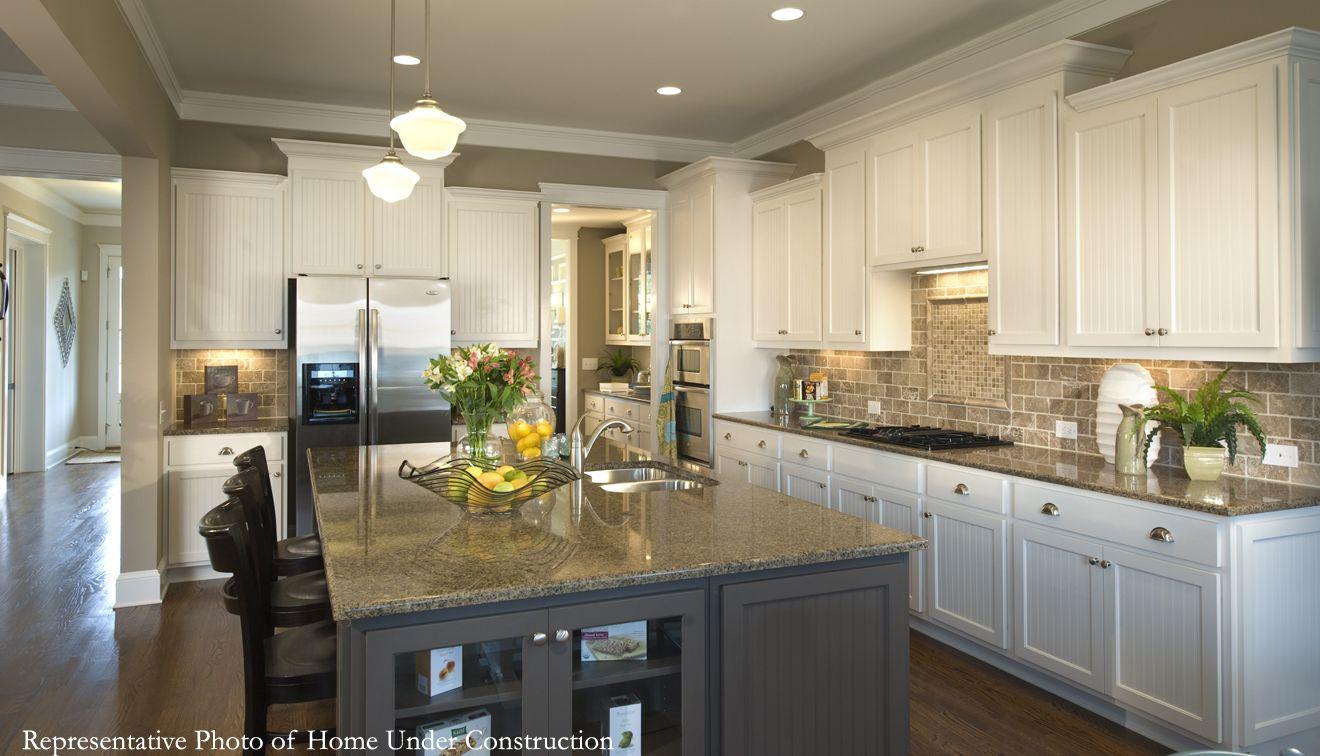 chesapeake kitchen design. fine kitchen the chesapeake designer model new home mccullough pineville north carolina to kitchen design