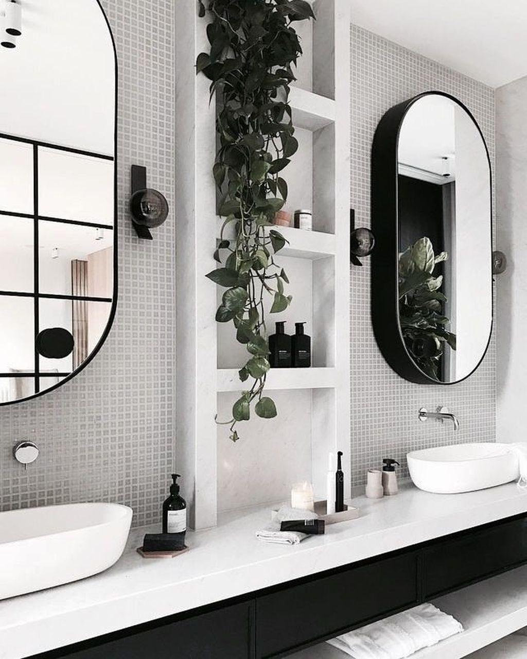 Cool 30 Amazing Bathroom Design Ideas With Black And White Bathroom Inspiration Trendy Bathroom Bathroom Design Small bathroom mobile home bathroom