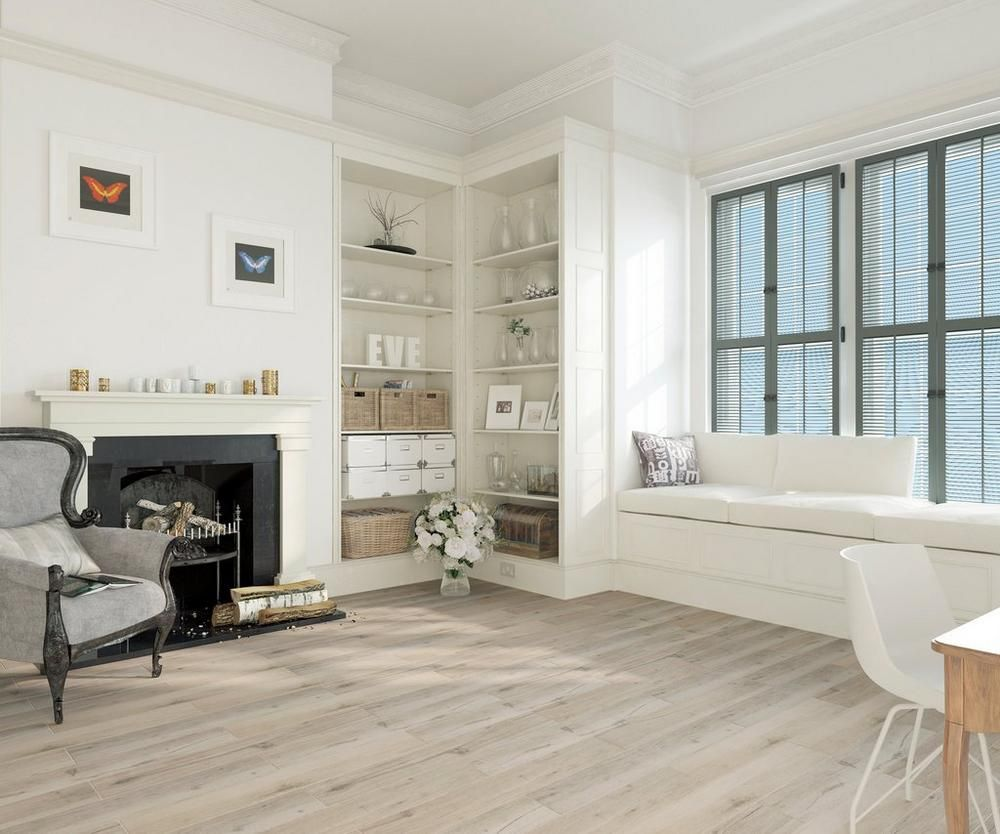 Birch Forest Gray Wood Plank Porcelain Tile | Floors Houston ...
