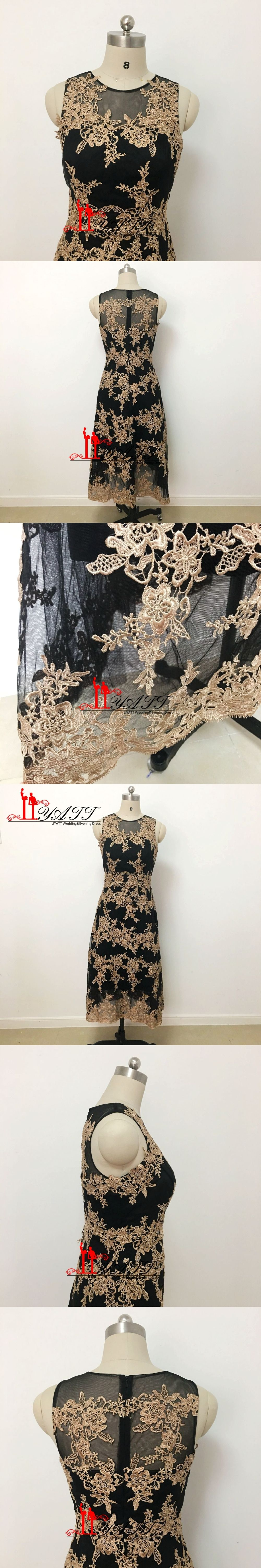 Glamorous tea length lace mother of the bride dresses plus size