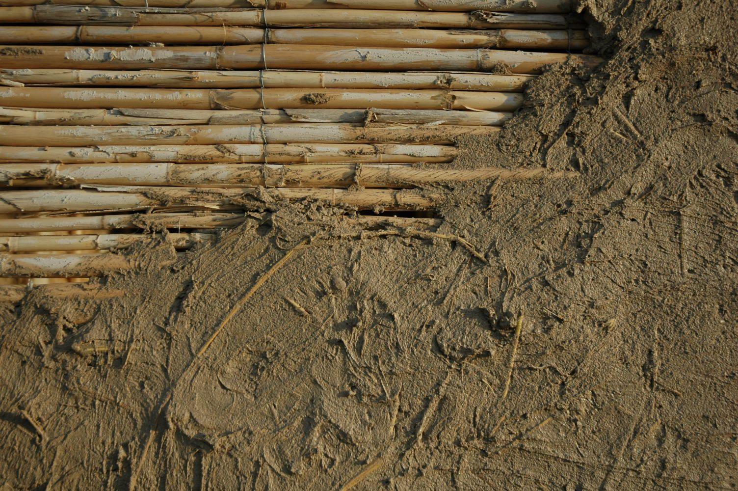 Encestado sobre ca izo construcciones de ca as y bambu pinterest - Informacion sobre la fibra vegetal ...