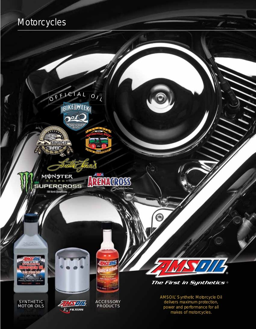 Amsoil products for motorcycles see more amsoil products at http www
