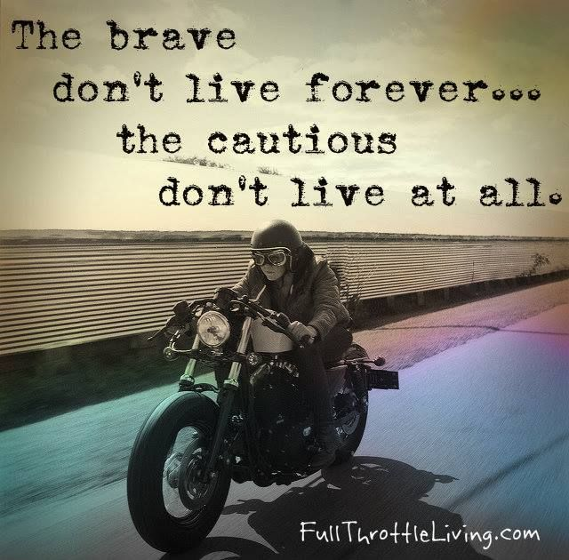 #inspirationalsayings http://www.positivewordsthatstartwith.com/ The brave don't live forever but the cautious don't live at all #qoutes