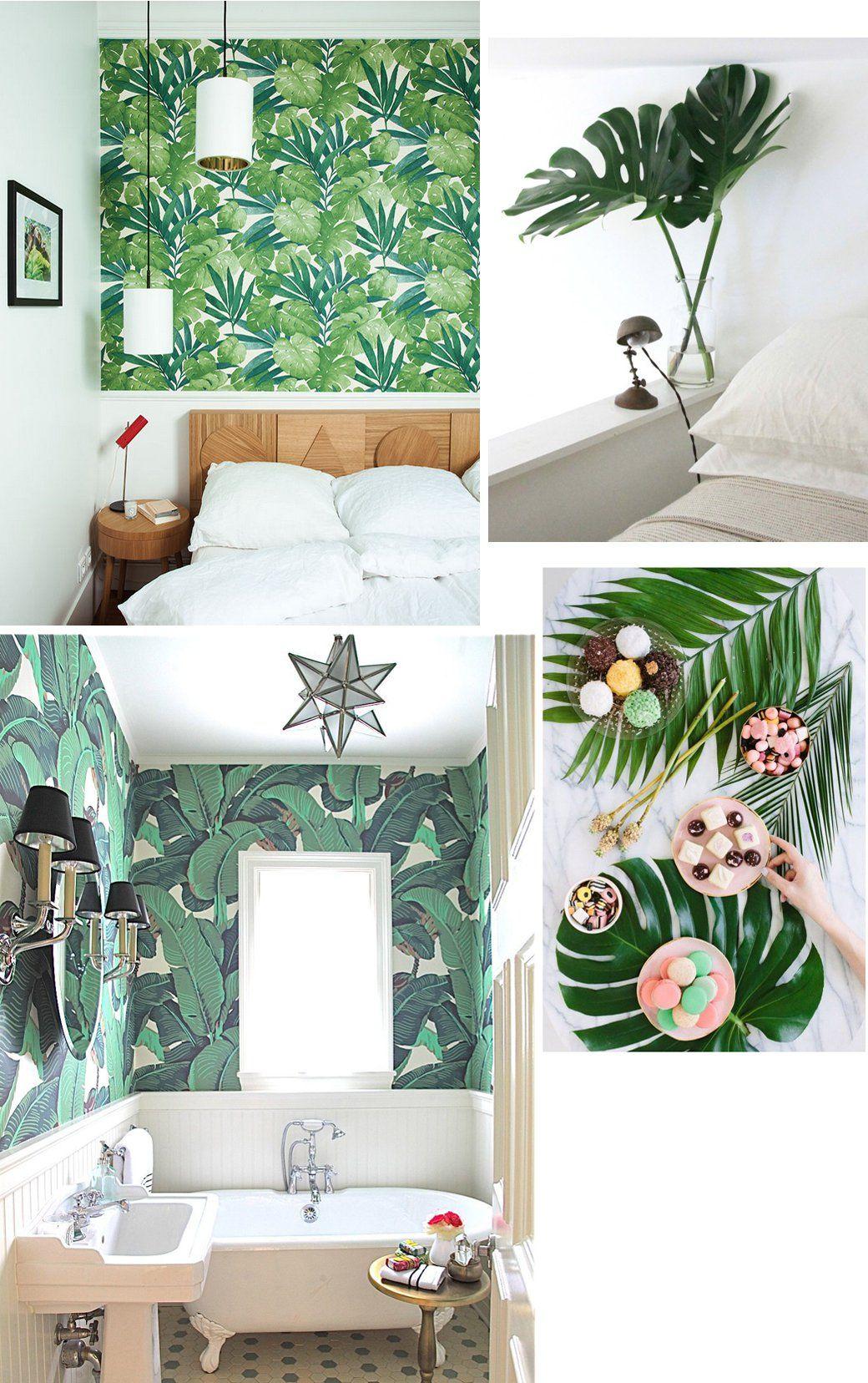 8 Leaves To Love Tropical Leaf Decor Ideas Decor8