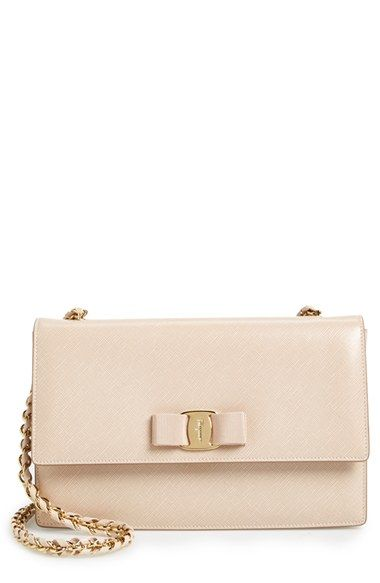 Salvatore Ferragamo 'Ginny' Shoulder Bag available at #Nordstrom