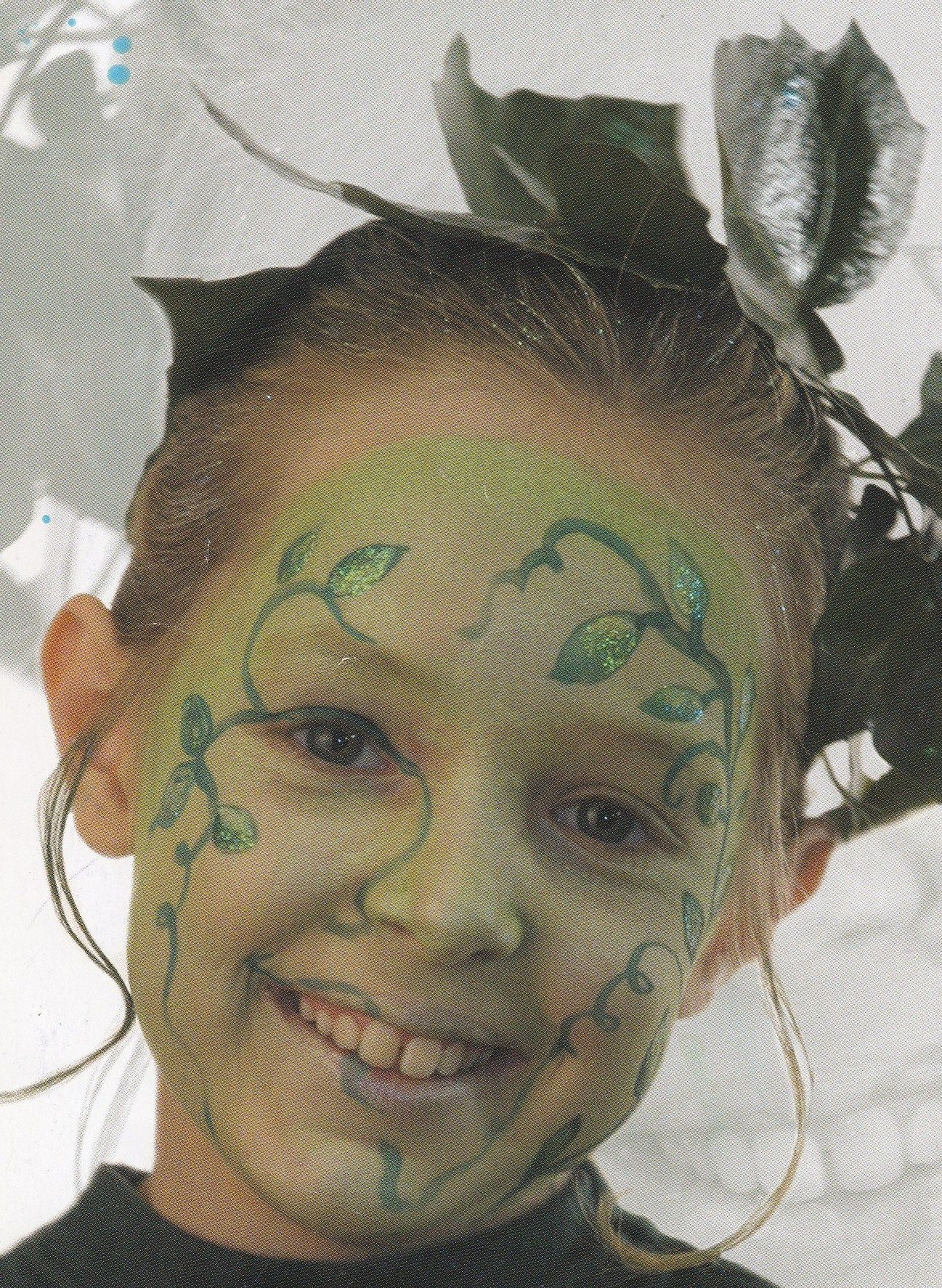 boselfje uit het basisboek schminken van Karin Mollemans