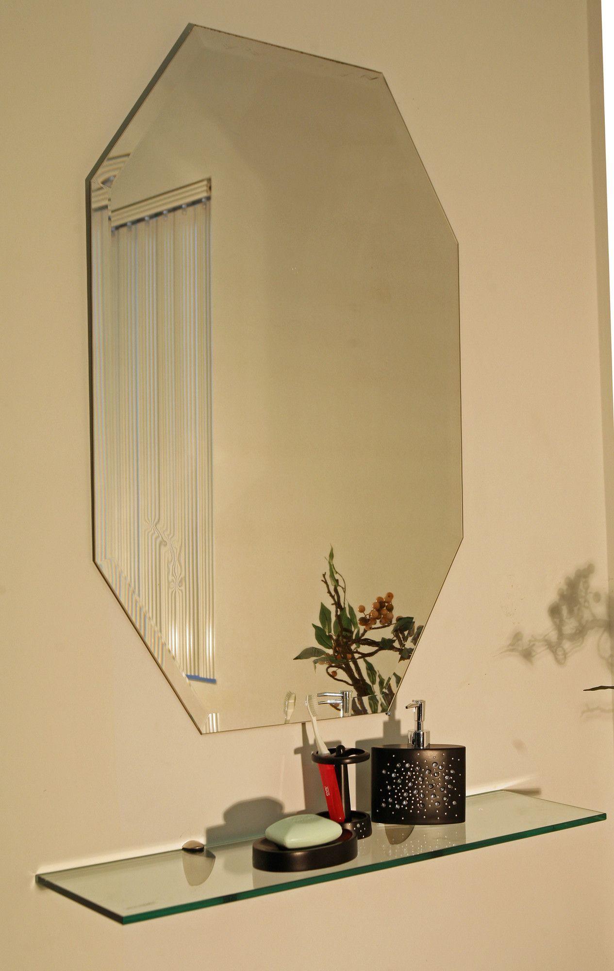 Cromer Frameless Mirror | Products | Pinterest | Frameless mirror ...