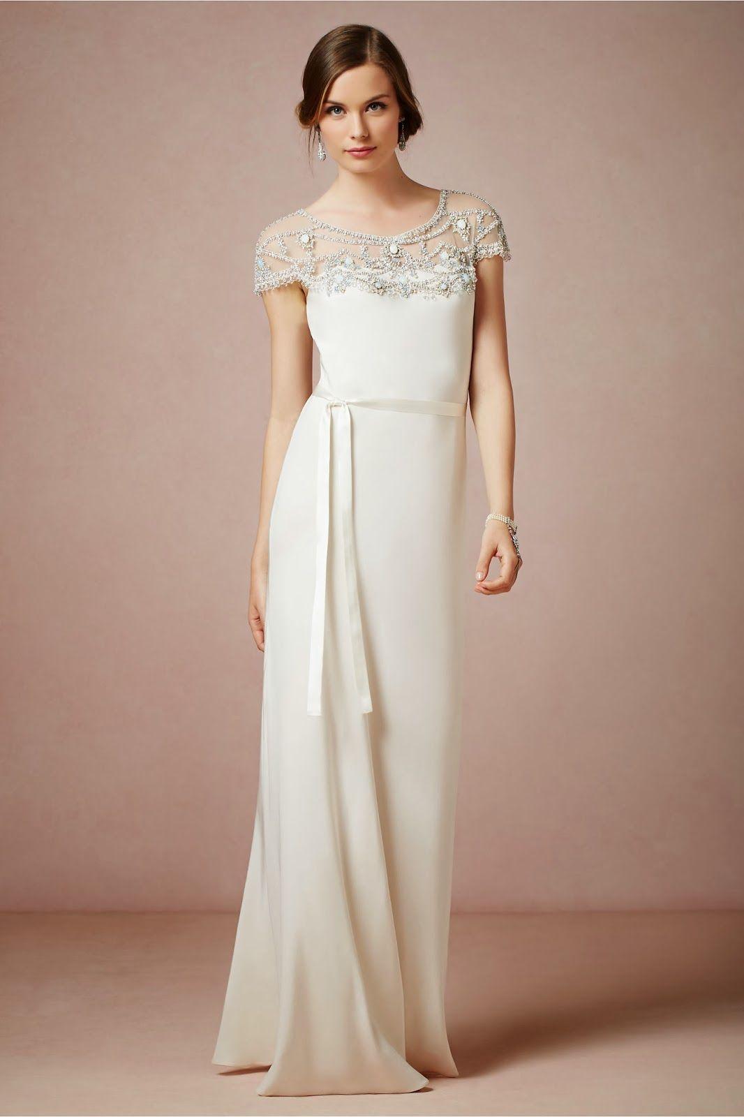 Sencillos vestidos de novia colección vintage vestidos