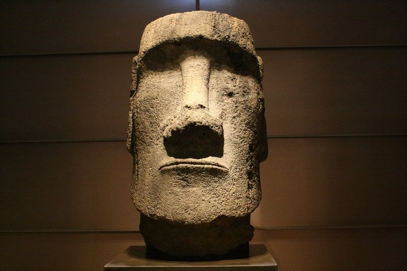 The Moai Were Carved In The Period 1100 1680 Ce Rectified Radio Carbon Dates A Total Of 887 Monolithic Stone Sta Easter Island Easter Island Heads Tiki Head
