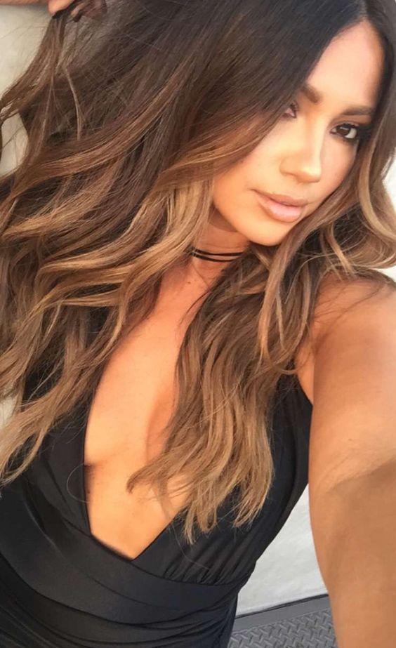 Balayage Light Brown Hair Mechas Balayage Coloración De Cabello Balayage