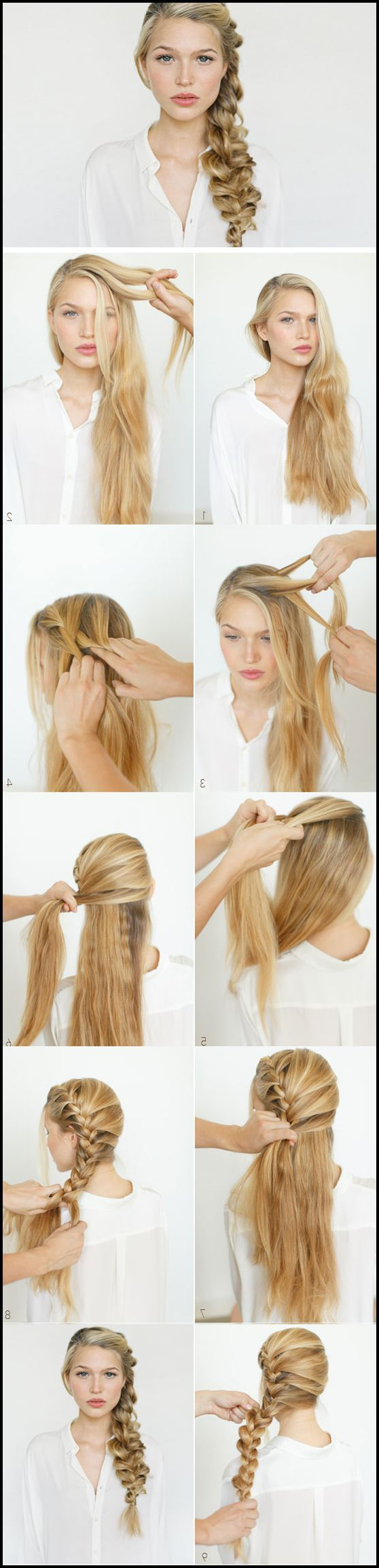 Easy DIY Wedding Hairstyles for Long Hair #Frisuren #HairStyles 25+ ...