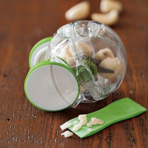 Chefu0027n Garlic Zoom Chopper | Williams Sonoma One Of My Fav Gadgets In