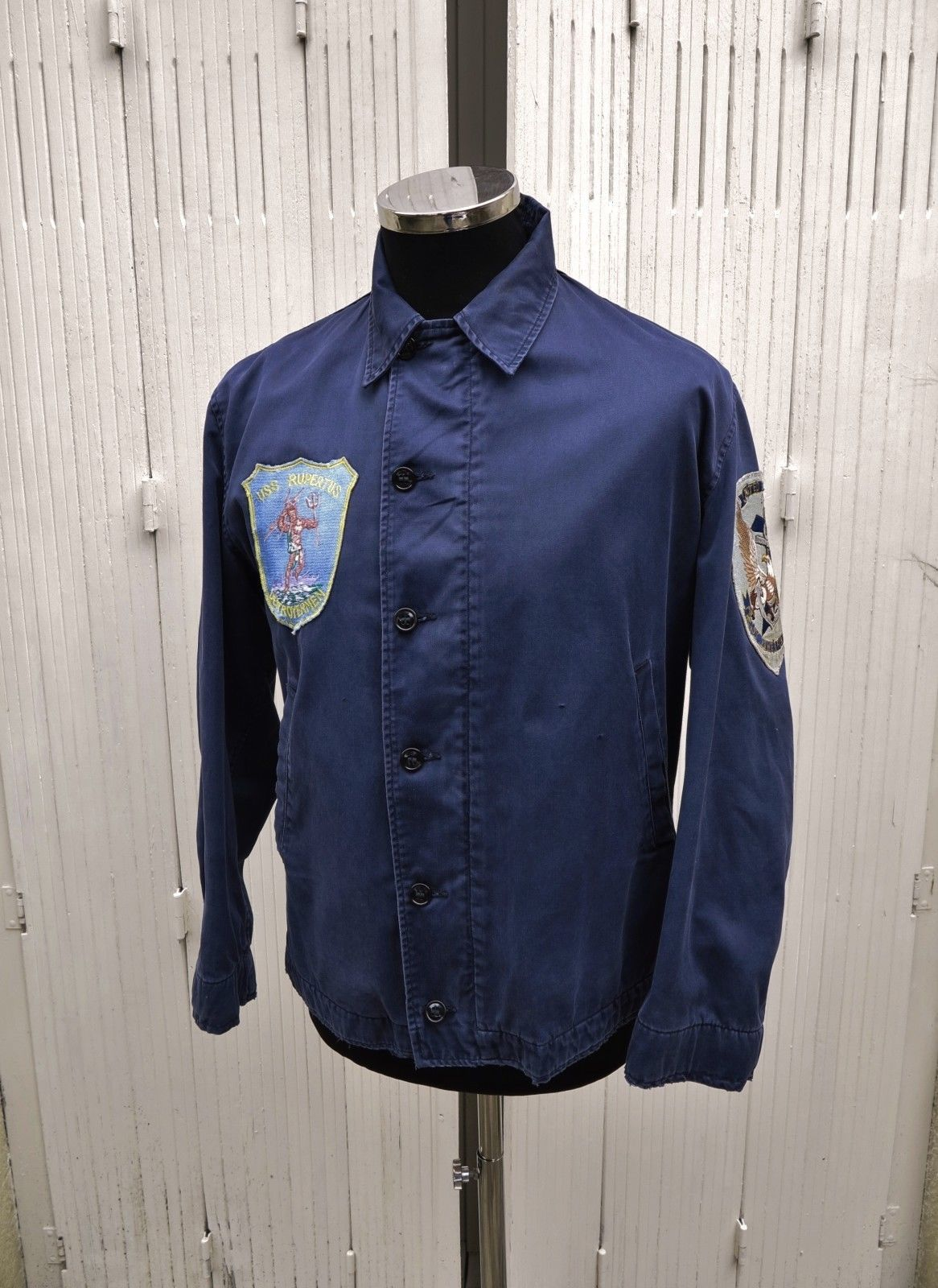 Korean War USN Deck Jacket Vtg USN Deck Jacket N 4 US Navy Deck Jacket N4  Patch  4b598a746