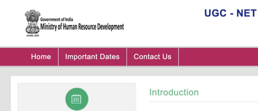 Nta Ugc Net Exam Net Exam Name Wise Human Resource Development