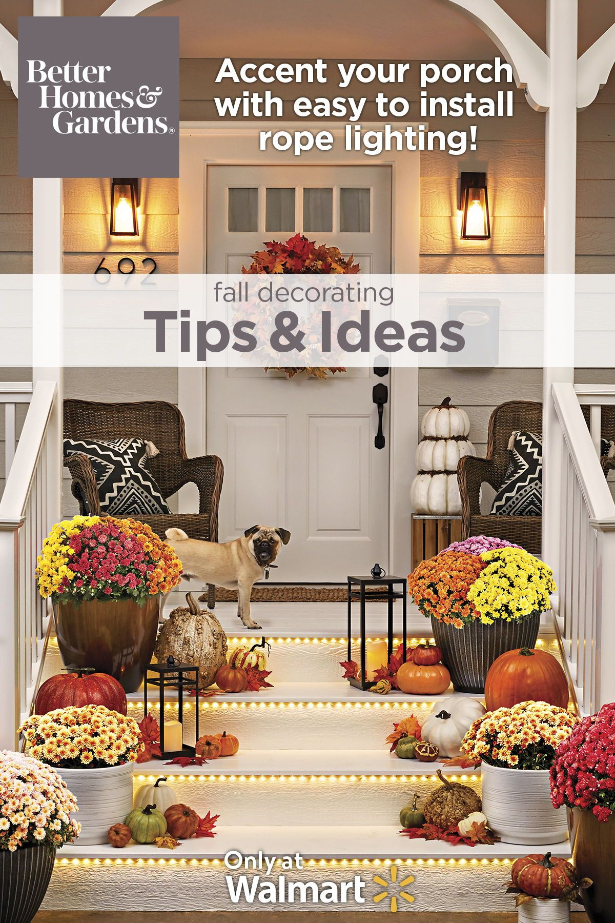 Home With Images Fall Outdoor Decor Better Homes Gardens