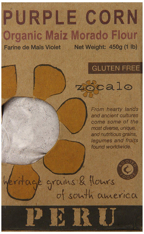 Zócalo Peru Organic Purple Corn Flour, 16 Ounce
