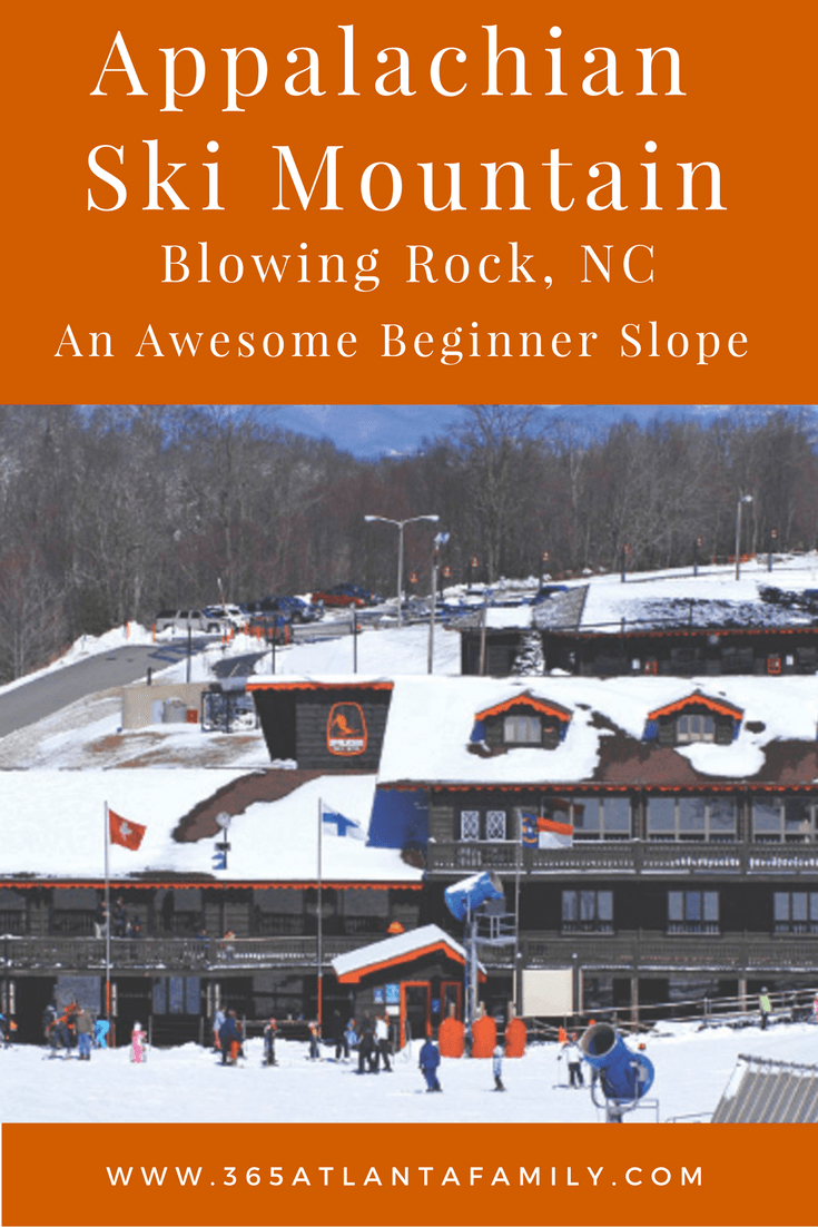 appalachian ski mountain nc: an awesome beginner slope | back to ski