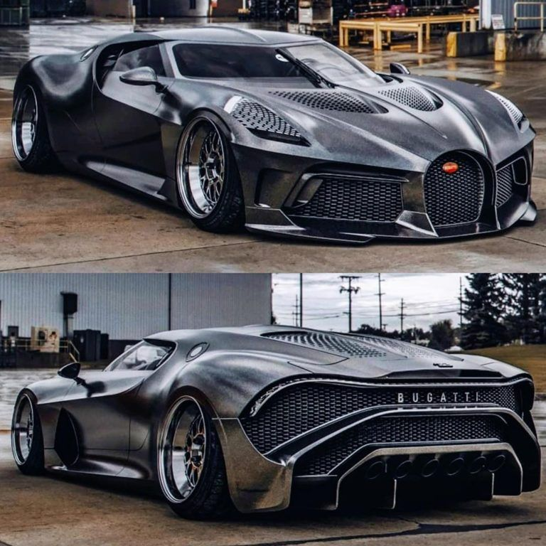Modified La Voiture Noire ? What do you think? #cars247 ?: @the_kyza #bugatti #lavoiturenoire - Carhoots