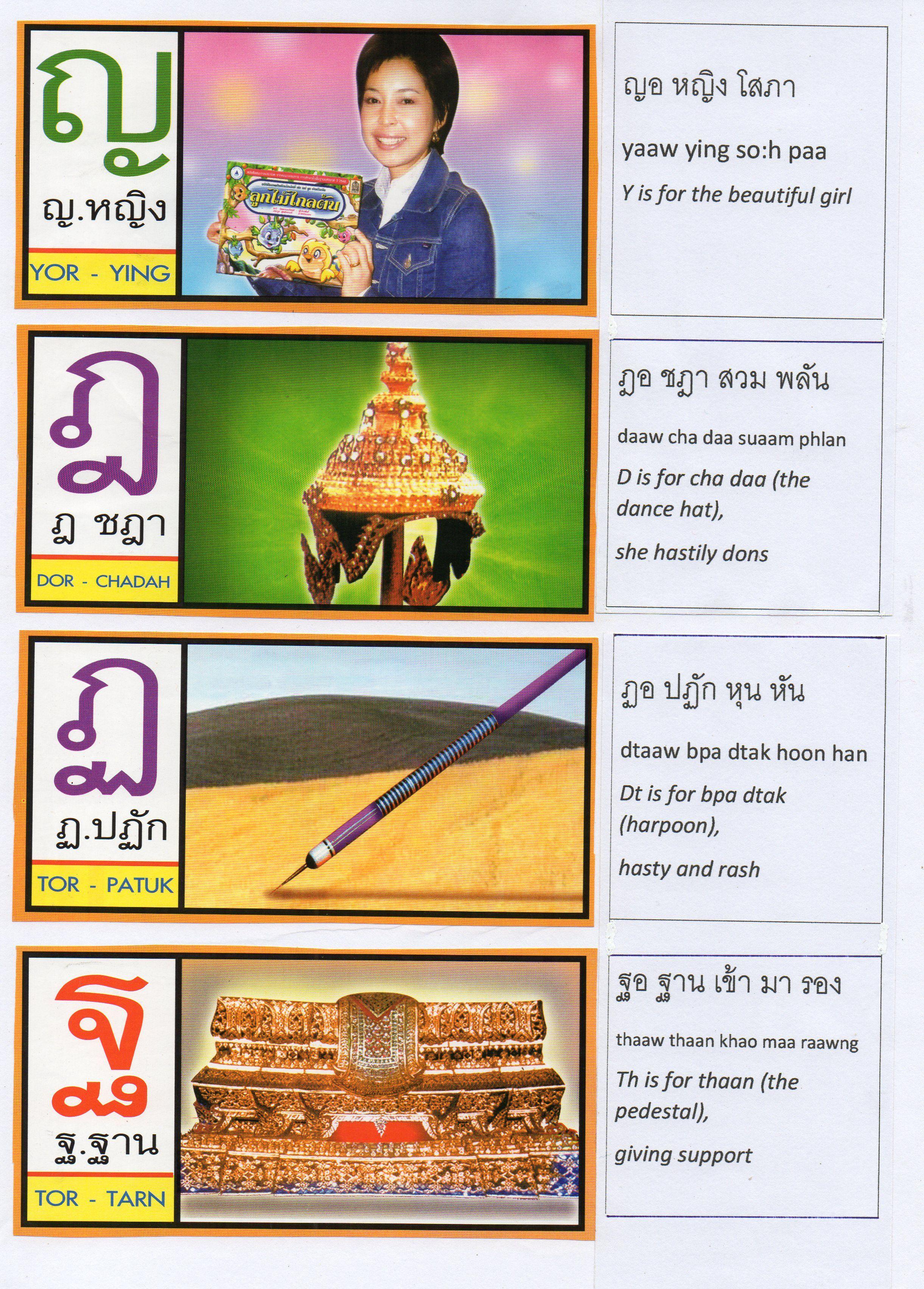 Thai Alphabet Song Lyrics Page4