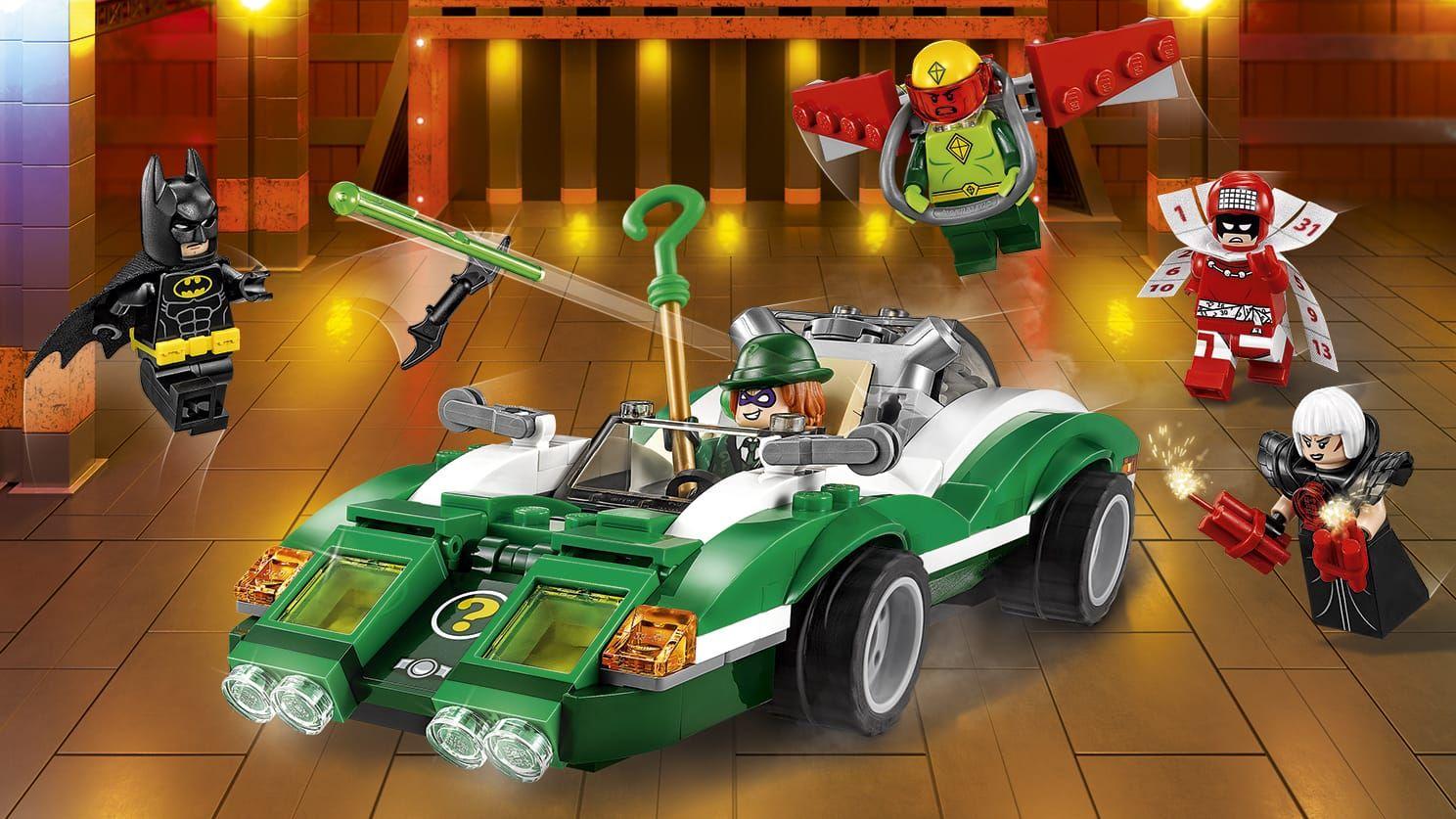 Il Riddle Racer di The Riddler™ Lego batman, Enigma