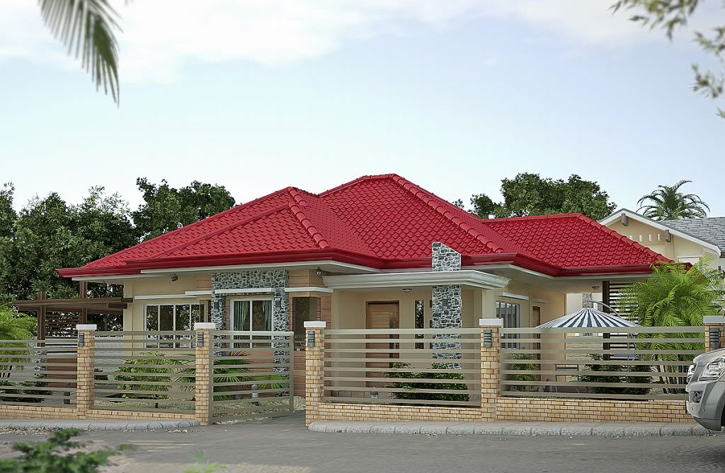 stylist and luxury simple bungalow house design in the philippines. Elevated Bungalow With Attic Page Type House Design Philippines  Plans bonito Pinterest