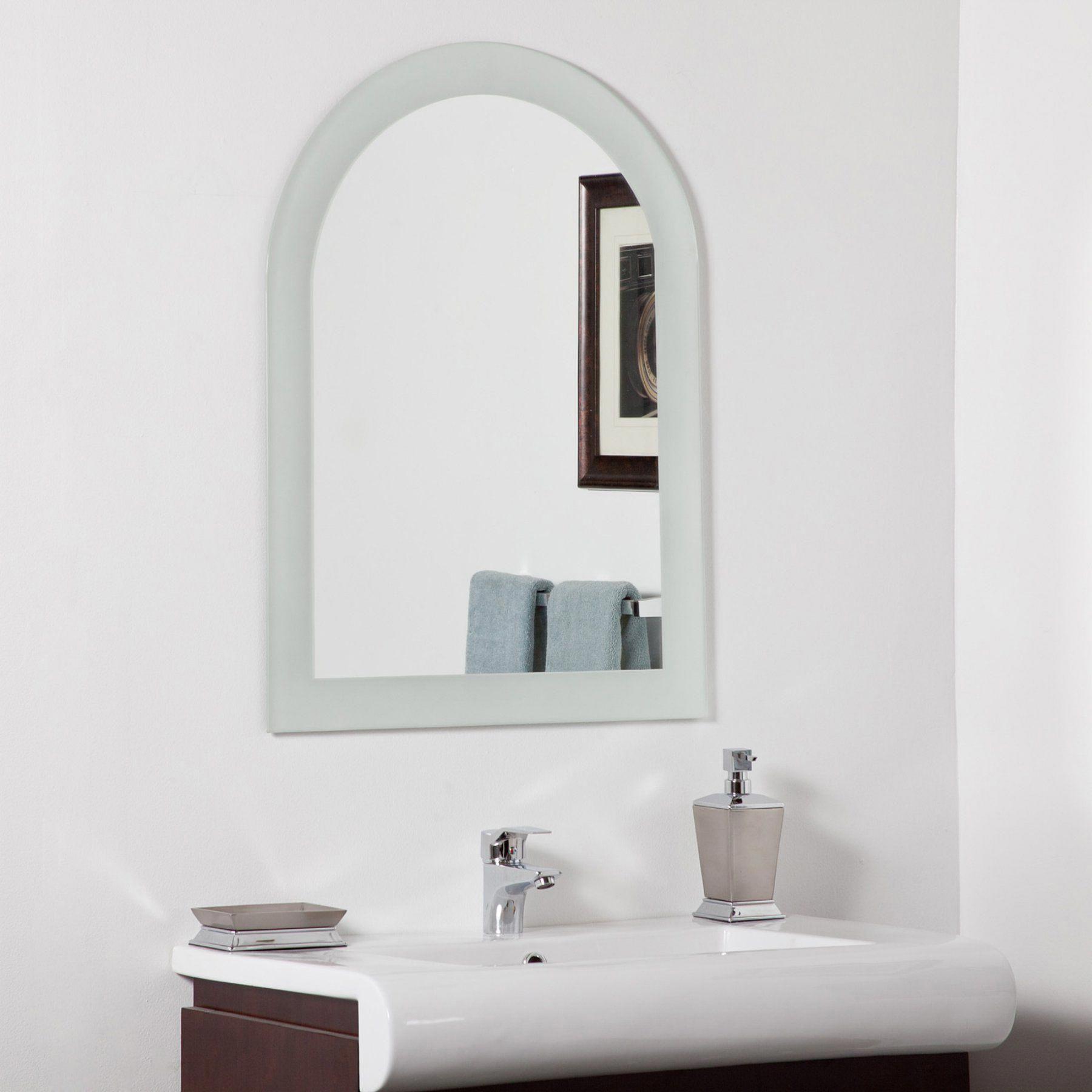 Da C Cor Wonderland Serenity Arched Modern Bathroom Mirror 23 6w X 31 5h In Ssm502 1 Modernhomedecorbathroom [ 1800 x 1800 Pixel ]