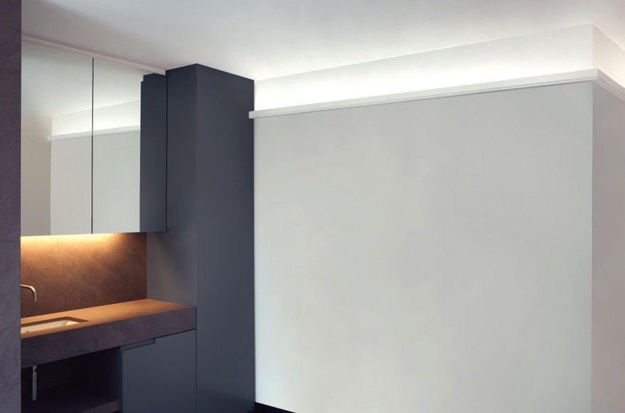 Sunrise Molding For Lighting Indirect Lighting Bathroom Inspiration Modern Modern Bathroom Decor