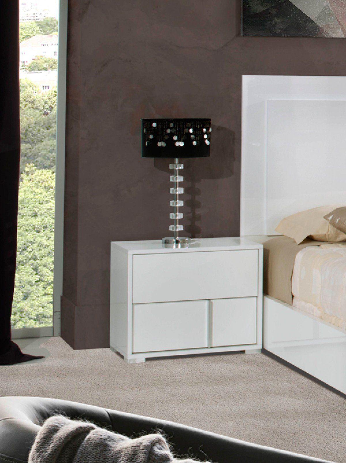 Best Vig Furniture Modrest Nicla Italian Modern White 400 x 300