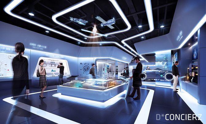 Exhibition Stand Design Competition : Client xorbis directing d concierz planning design