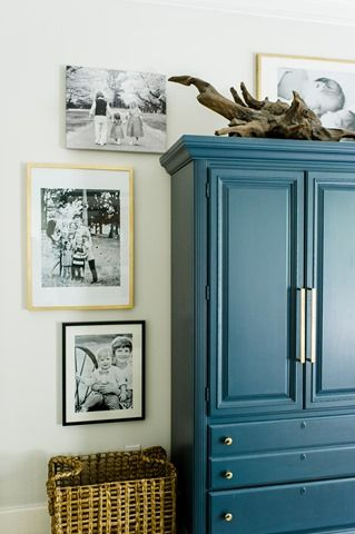decorate furniture. how to decorate around and on top of tall furniture