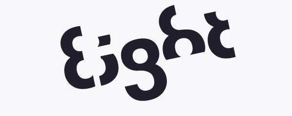 Eight Logo = 25 Creative Logos Art 2016/17 Ideas in UK/USA