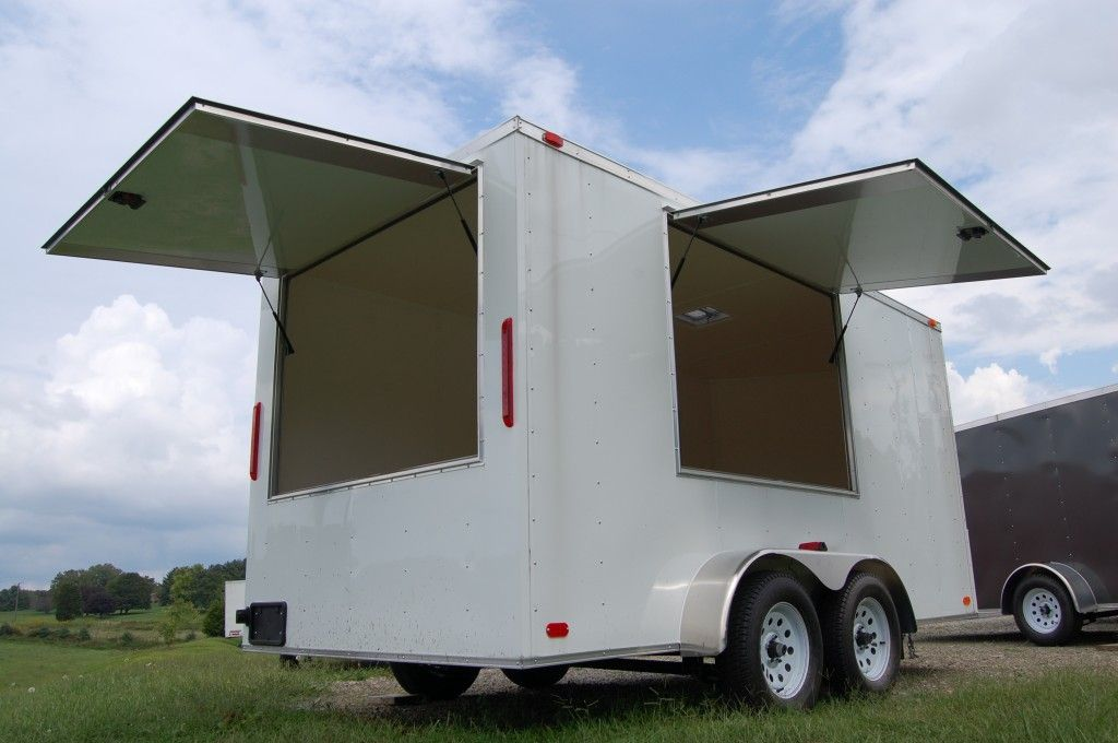 Enclosed Concession & Vending Trailers ProLine Trailers