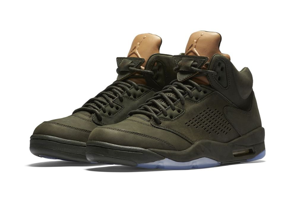 """The Jordan V PRM """"Take Flight"""" Receives a Special Military-Inspired Package"""