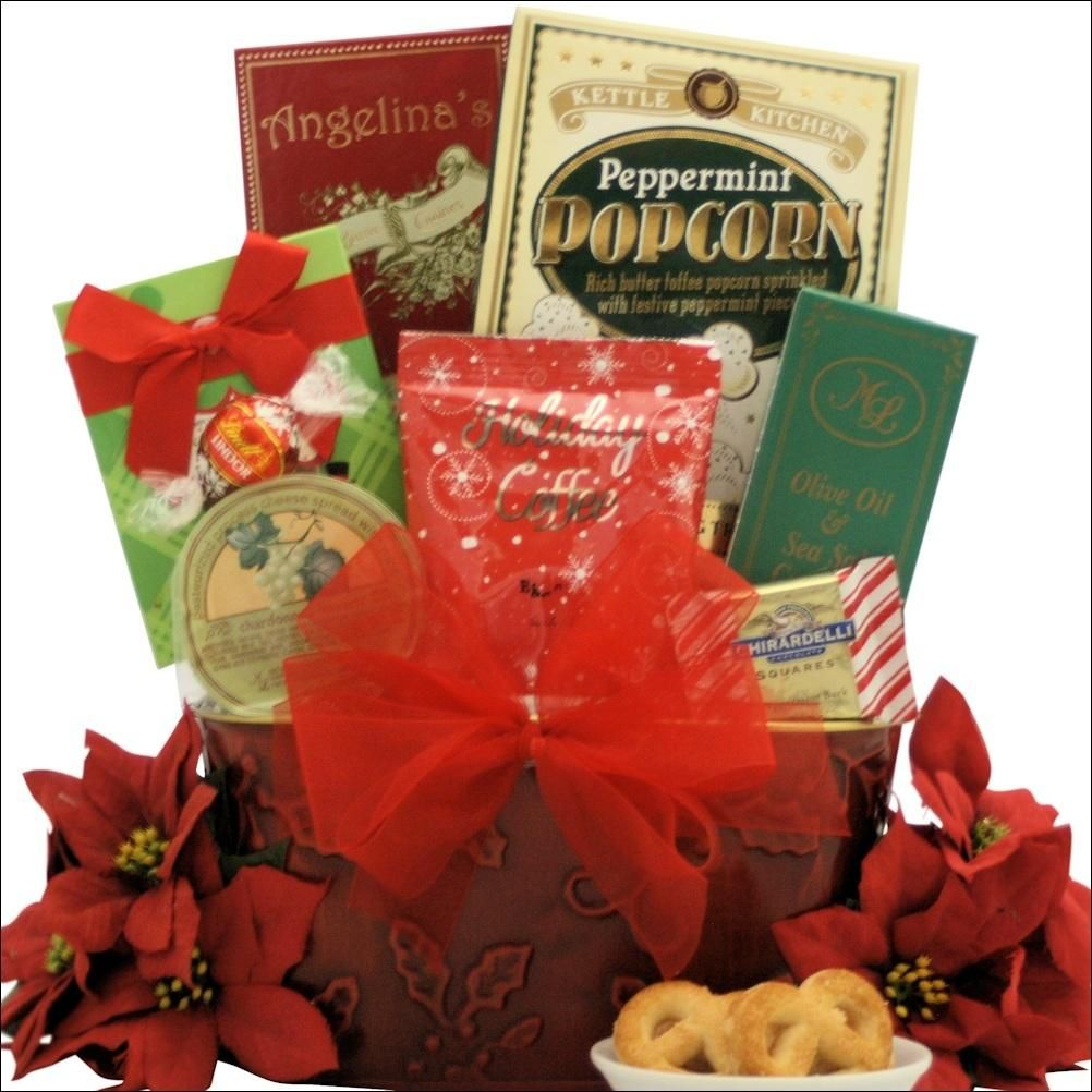Tidings of Joy: Small Gourmet Holiday Gift Basket | Products ...