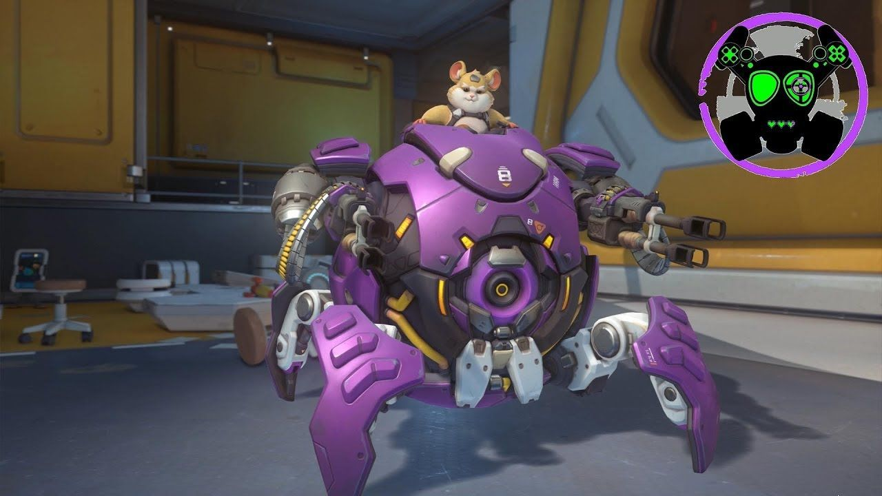 Overwatch It S A Hamster In A Wrecking Ball Wrecking Ball