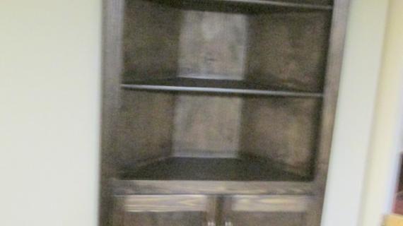 Corner Cupboard #anawhite