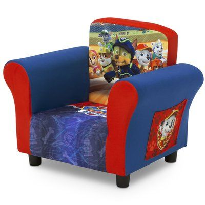 Delta Children Nick Jr Paw Patrol Kids Chair Upholstered Chairs