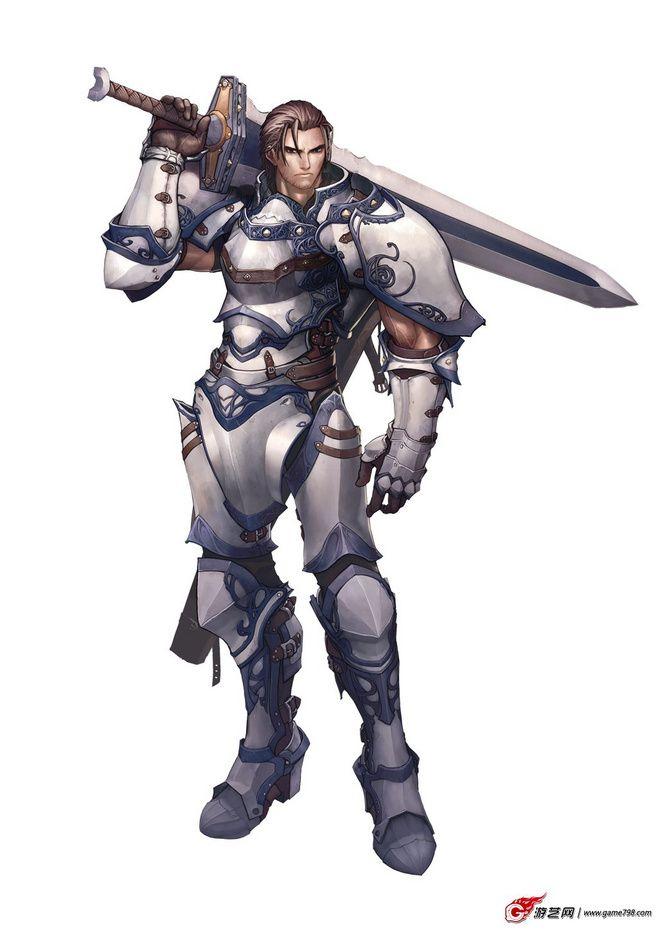 white knight | Fantasy character design, Concept art ...