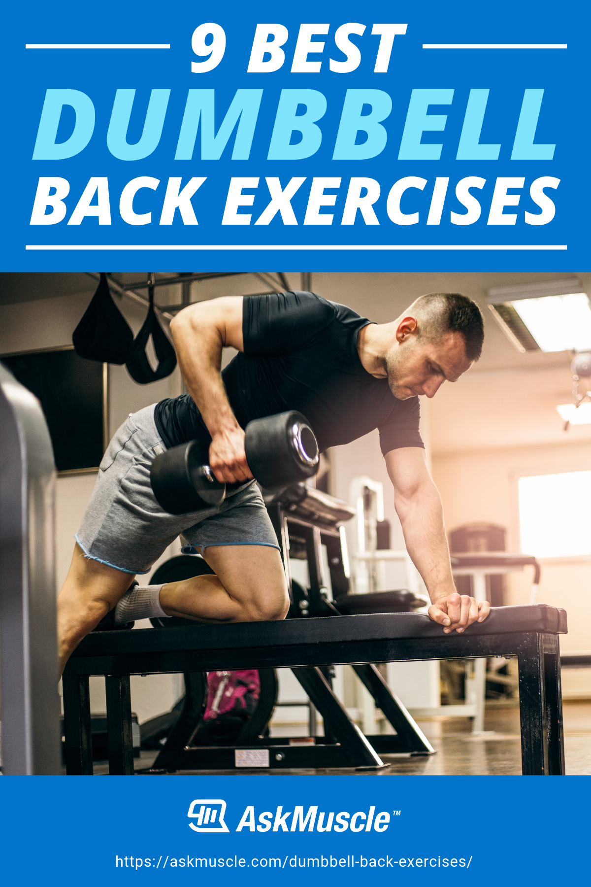 9 Dumbbell Back Exercises for a Thick, Strong Build | Ask Muscle