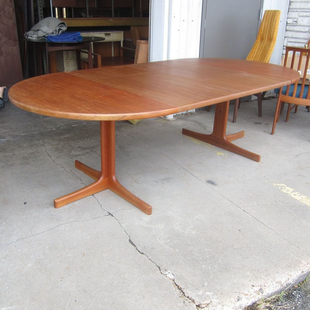 Vintage Teak Dining Table With Leaves Designedkarl Erik Cool Teak Dining Room Furniture Review