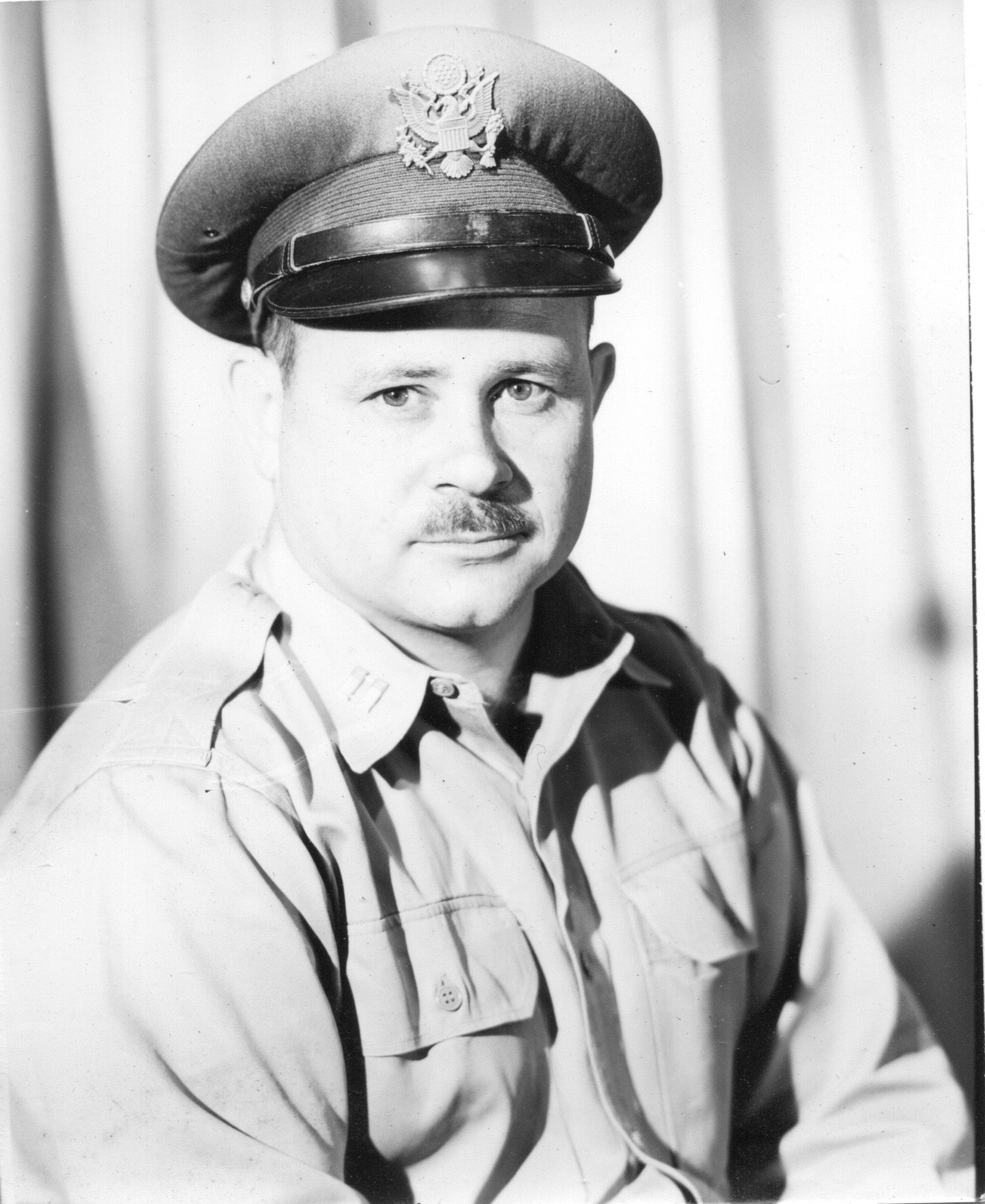 Papa in his Air Force captain's uniform, early 1950s (With